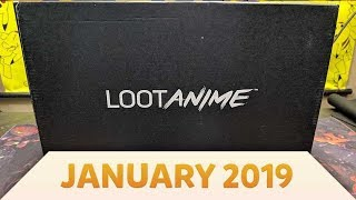 Loot Crate's Loot Anime Box Opening | January 2019 by The Pokémon Evolutionaries