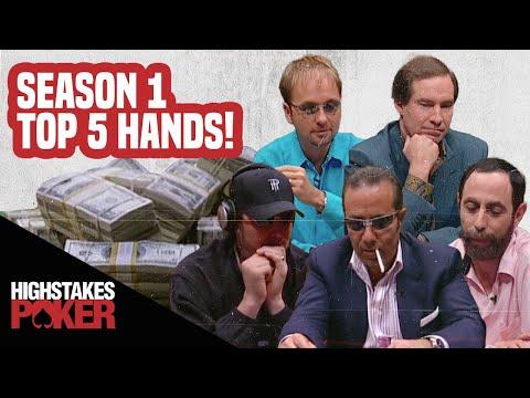 High Stakes Poker Best Poker Hands | Season 1