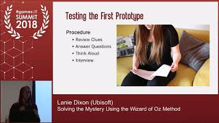 Solving the Mystery Using the Wizard of Oz Method
