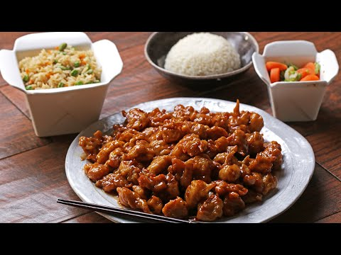 The Original Orange Chicken By Panda Express