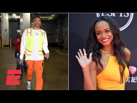 Video: The Bachelorette's Rachel Lindsay talks Russell Westbrook's outfit, James Harden | Hoop Streams