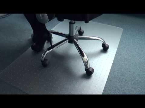 Floordirekt PRO: Bodenschutzmatte für Teppichboden (Polycarbonat)