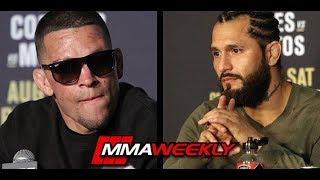 Nate Diaz fight Jorge Masvidal for Baddest Mutha F###er Belt  (UFC 241) by MMA Weekly