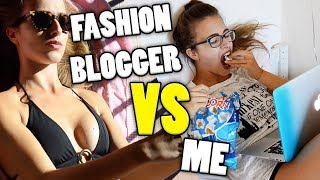 FASHION BLOGGER VS ME
