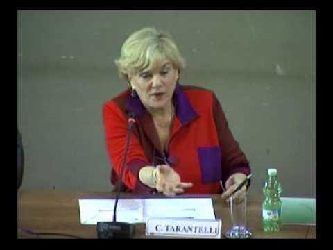 Intervento di Carol Beebe Tarantelli