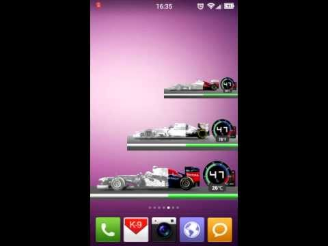 Video of Formula Battery Widget Pro
