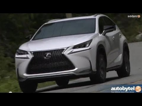 2015 Lexus NX 200t F-Sport Test Drive and Video Review