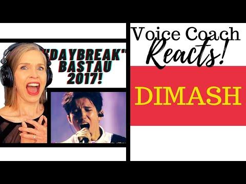 Voice Coach Reacts | Dimash Kudaibergen | DAYBREAK | Bastau 2017 | Димаш Құдайберген Таң атты Бастау