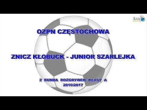 Znicz Kłobuck – Junior Szarlejka 2 – 0