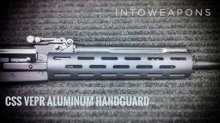 Review of the Carolina Shooters Supply (CSS) AR-15 Style Aluminum Forearm with Vented Slots (https://goo.gl/k1paQM - budget alternative). How to install on a...
