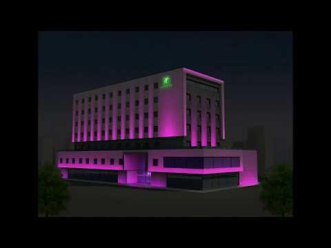 Holiday Inn Aydınlatma Tasarımı - Aydınlatio   Mimari Aydınlatma Tasarımı