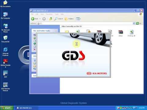 Hyundai &Kia GDS VCI Diagnostic Tool KIA install video