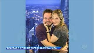 O delegado Cristian, de 42 anos, estava afastado do cargo para tratar uma depressão. Ele atirou na esposa Cláudia, que era...