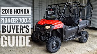 1. 2018 Honda Pioneer 700-4 Model Lineup Explained / Differences | UTV / Side by Side Buyer's Guide