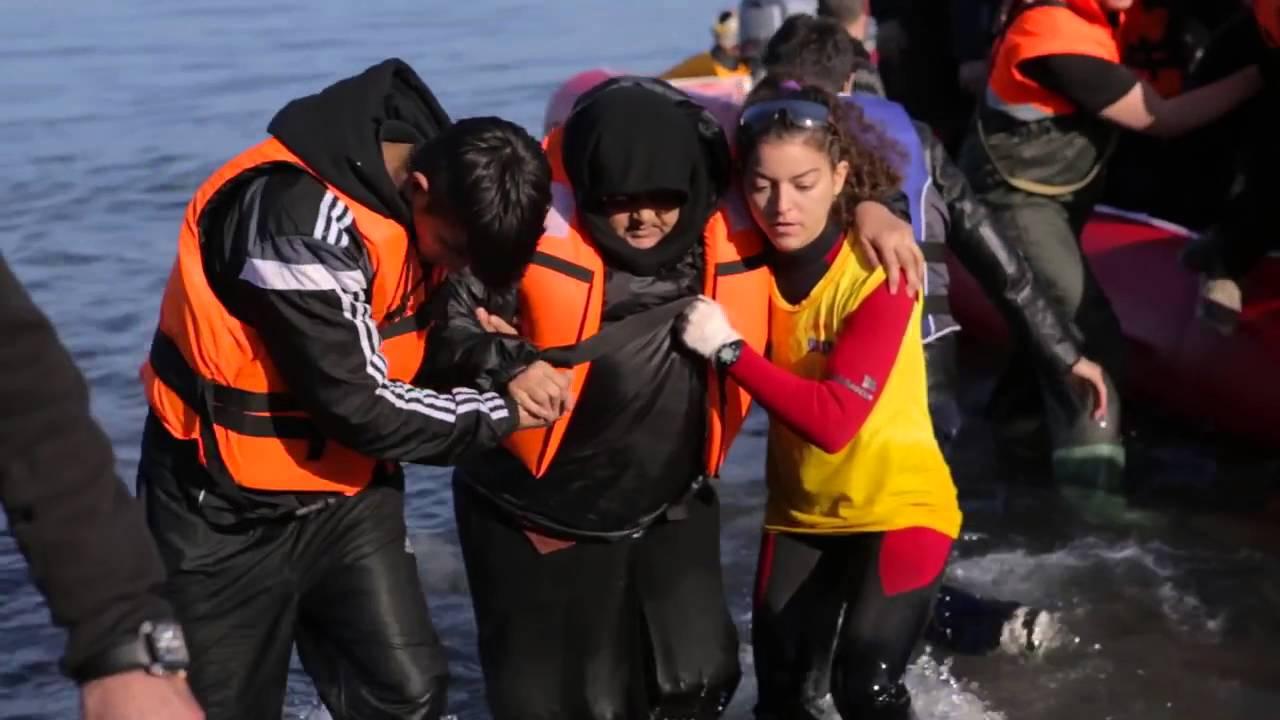 Λέσβος Χριστούγεννα Χωρίς Σύνορα  Οι αφίξεις προσφύγων