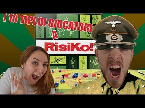 I 10 TIPI DI GIOCATORE A RISIKO!