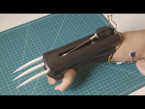 Build Your Own Set of Automatic Wolverine Claws