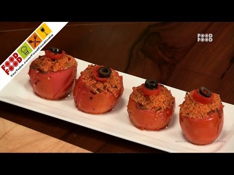 Stuffed Tomatoes With Couscous | Food Food India – Fat To Fit | Healthy Recipes