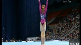 A. Grishina FX EF - European Gymnastics Championships 2013
