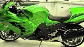 9. 2012 Kawasaki Ninja ZX-14R New Product Launch