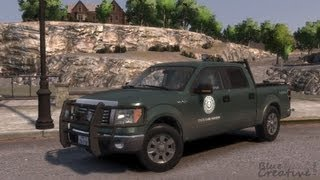LIBERTY / TEXAS GAME WARDEN FORD F-150