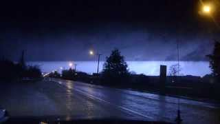Reefton New Zealand  city images : Spectacular lightning at Reefton New Zealand