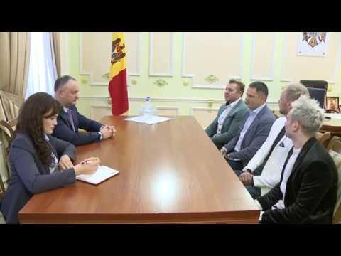 Participarea trupei SunStroke Project la Concursul Muzical Eurovision 2017 va avea loc sub patronajul Președintelui Republicii Moldova