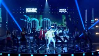 UPTOWN FUNK - THÁI TRINH - GALA ĐĂNG QUANG TDTT (26/7), tuyet dinh tranh tai, game show tuyet dinh tranh tai