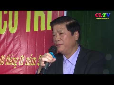 Đại biểu HĐND tỉnh và huyện Cam Lộ tiếp xúc cử tri tại xã Cam Hiếu