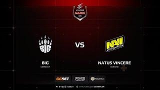 BIG vs Natus Vincere, inferno, ELEAGUE Major Boston 2018