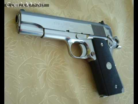 My New Springfield Trophy Match 1911 Stainless
