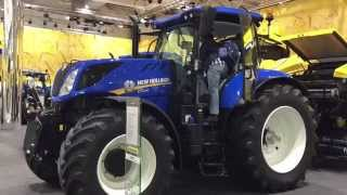 Traktor New Holland T7.230 Power Command, Agritechnica 2015