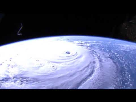 Hurricane Florence from the International Space Station_Best spacecraft videos of the week