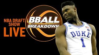 2019 NBA Draft LIVE SHOW by BBallBreakdown
