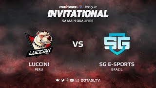 Luccini против SG e-Sports, Первая карта, SA квалификация SL i-League Invitational S3