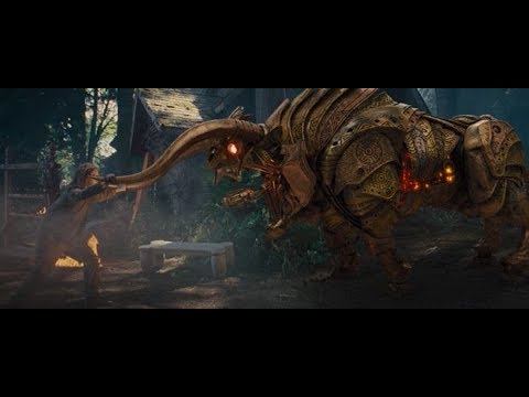 Percy Kill The Machine Bull Scene | Percy Jackson The Sea Monster (2013)