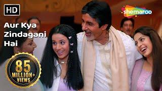 Aur Kya Zindagani Hai  I   Hd    Ek Rishtaa  The Bond Of Love Song   Amitabh Bachchan   Rakhee