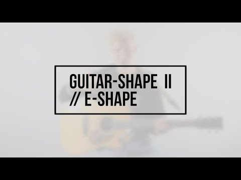 Hør Guitar-shape II // E-shape // David Kristoffersen på youtube
