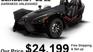 8. 2016 Polaris Slingshot Reverse Trike SL LE $24,199  - Wholesale at consumer-electronics-usa.com