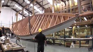 Video Extreme Fast Wooden Boat Build Skills - Amazing TimeLapse Boat Building Process MP3, 3GP, MP4, WEBM, AVI, FLV Juli 2019