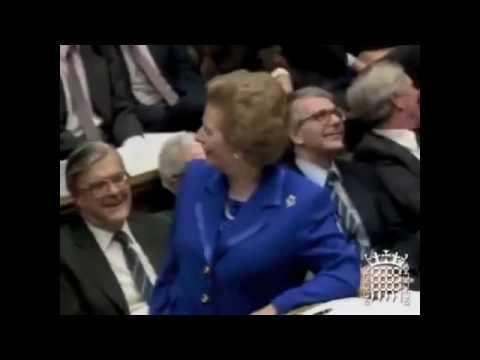 In 1990 Thatcher warned that the Euro would end European democracy