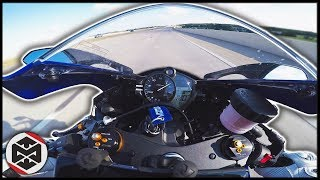 10. Yamaha R6 TOP SPEED CHALLENGE