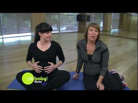 Belly Breathing for Labor and Coordinated Pushing – Pregnancy Exercise – Oh Baby! Fitness