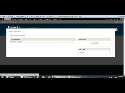 Continuous rss scrolling drupal module