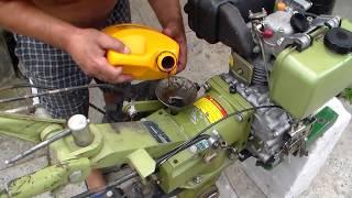 Замена масла редуктора дизельного мотоблока