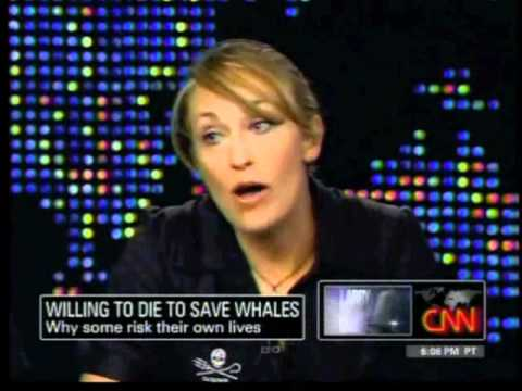 Interview(Maltse)Pt1 - Larry King interviews the crew of Sea Shepherd about the show Whale Wars and their campaigns to stop the illegal commercial whaling activities of the Japanes...