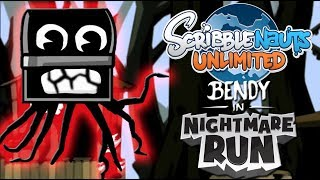 Scribblenauts Unlimited BENDY IN NIGHTMARE RUN Chester