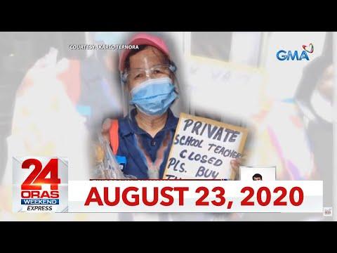 24 Oras Weekend Express: August 23, 2020 [HD]