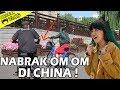 NABRAK OM OM DI CHINA  TUTORIAL NYEBRANG JALAN  CIGULL JOMBLO VLOGGER waptubes