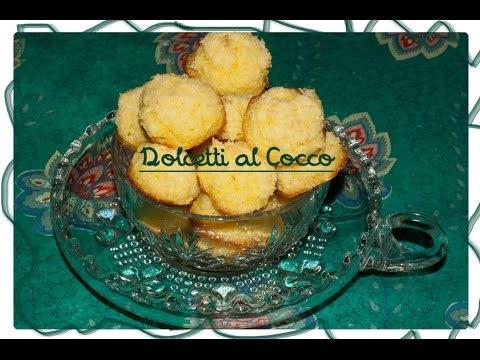 dolcetti al cocco -facili da cucinare